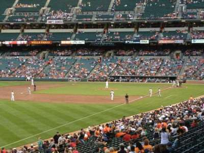 Oriole Park at Camden Yards section 73