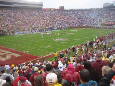 Bobby Bowden Field at Doak Campbell Stadium, section: 38, row: 26, seat: 17-18