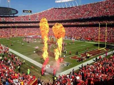 Arrowhead Stadium section 217