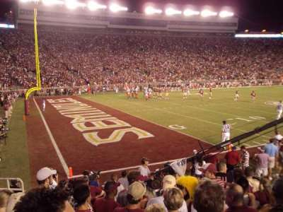 Bobby Bowden Field at Doak Campbell Stadium section 38