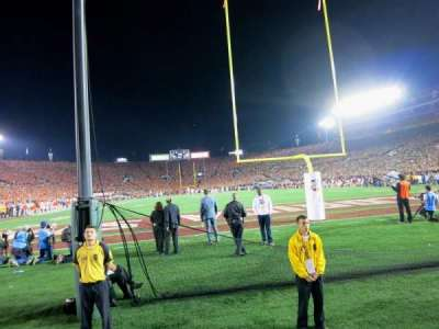 Rose Bowl, section: Tunnel 11, row: N, seat: 5-6