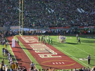 Rose Bowl, section: 1, row: 35, seat: 107-108