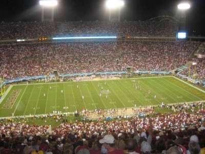 TIAA Bank Field, section: 411, row: J, seat: 5-6