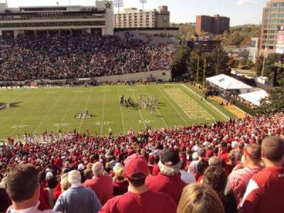 Vanderbilt Stadium, section: u, row: 56, seat: 15-16