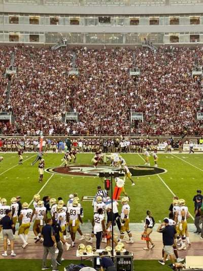 Bobby Bowden Field at Doak Campbell Stadium section 10