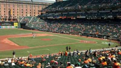 Oriole Park at Camden Yards, section: 55, row: 2, seat: 7