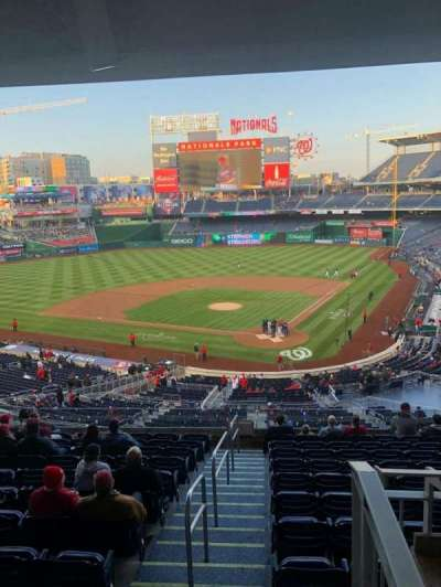 Nationals Park, section: 211, row: A, seat: 11