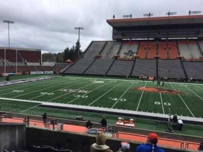 Reser Stadium, section: 116, row: 20, seat: 14