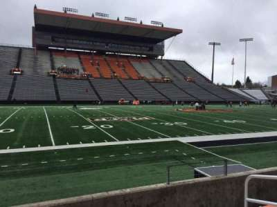 Reser Stadium, section: 119, row: 5, seat: 5