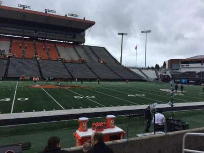 Reser Stadium, section: 117, row: 5, seat: 5