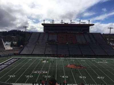 Reser Stadium, section: 220, row: 7, seat: 16