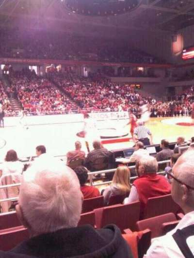 Fifth Third Arena, section: 106, row: 5