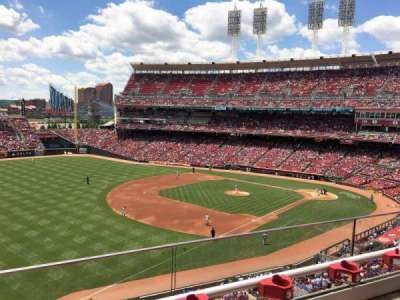 Great American Ball Park, section: 413, row: 8, seat: 24