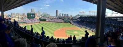 Wrigley Field, section: 512, row: 2, seat: 105