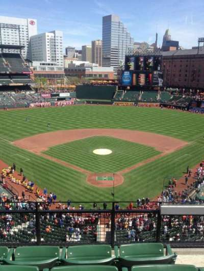Oriole Park at Camden Yards section 338