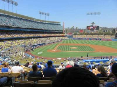 Dodger Stadium, section: 124LG, row: L, seat: 3