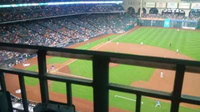 Minute Maid Park, section: 327, row: 1, seat: 4
