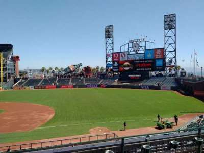 AT&T Park, section: 205, row: C, seat: 16