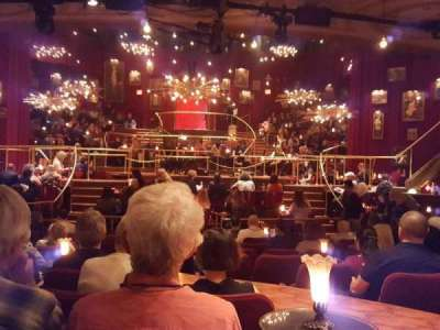 Imperial Theatre, section: Orchestra, row: M, seat: 107