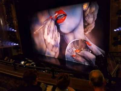 Nederlander Theatre, section: Mezzanine, row: C, seat: 24