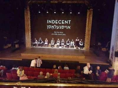 Cort Theatre, section: FMezz, row: B, seat: 110