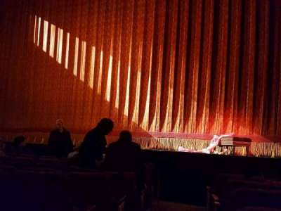 St. James Theatre, section: Orch, row: F, seat: 2