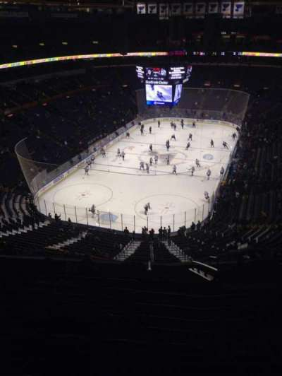 Scottrade Center, section: 310, row: L, seat: 3