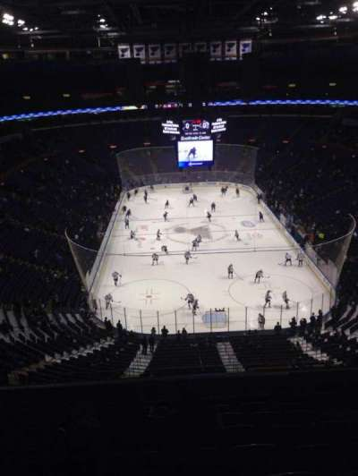 Scottrade Center, section: 312, row: K, seat: 7