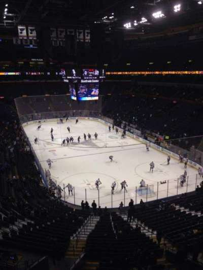 Scottrade Center, section: 314, row: A, seat: 1