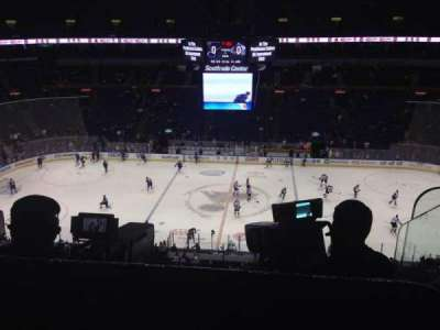 Scottrade Center, section: 320, row: D, seat: 1
