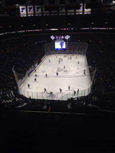 Scottrade Center, section: 328, row: N, seat: 4