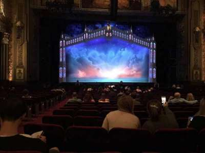 Pantages Theatre (Hollywood), section: Orchestra C, row: X, seat: 112