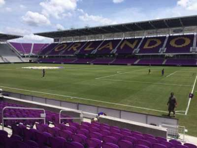 Orlando City Stadium, section: 10, row: K, seat: 1