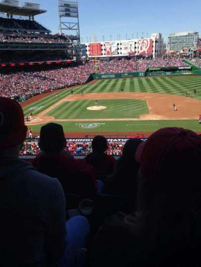 Nationals Park, section: 219, row: D, seat: 15