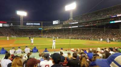 Fenway Park, section: Field Box 63, row: K, seat: 2