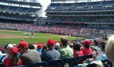 Nationals Park, section: 113, row: N, seat: 10