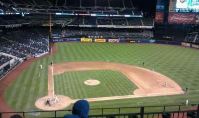 Citi Field, section: 410, row: 4, seat: 4