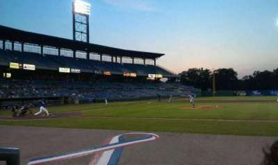 NBT Bank Stadium, section: 109, row: 2, seat: 16