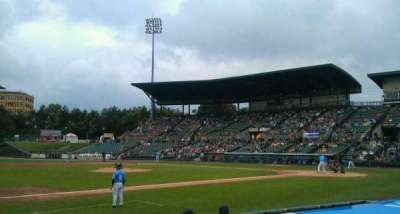 Frontier Field, section: 126, row: H, seat: 7