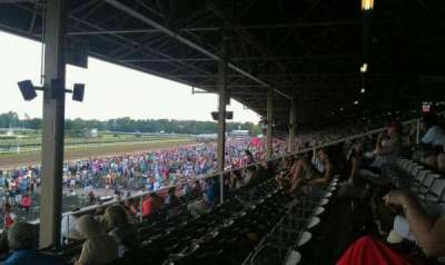 Saratoga Race Course, section: X, row: P, seat: 18