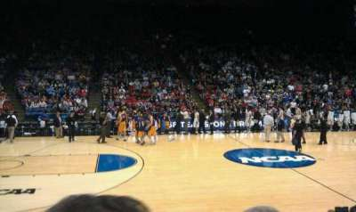 University of Dayton Arena section 105