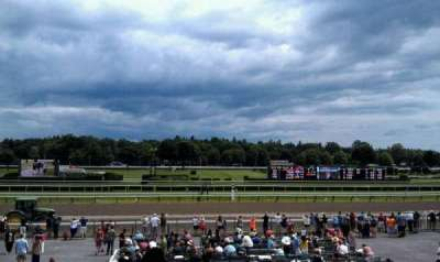 Saratoga Race Course, section: P, row: L, seat: 20