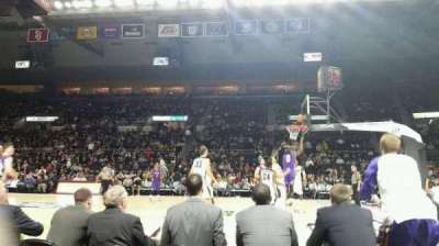 Dunkin' Donuts Center section 121
