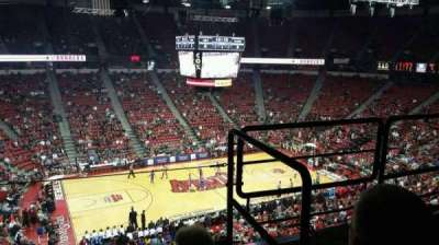 Thomas & Mack Center, section: 229, row: c, seat: 6