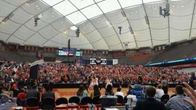 Carrier Dome section 109
