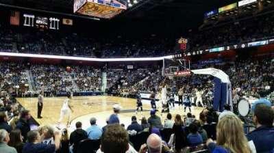 Mohegan Sun Arena, section: 21, row: F, seat: 10