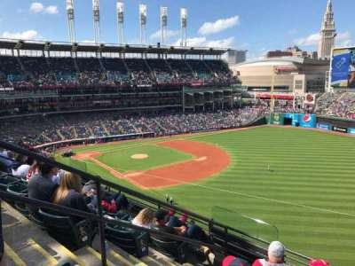 Progressive Field, section: 426, row: E, seat: 3