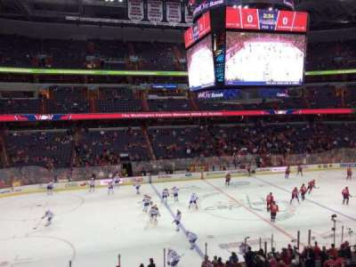 Verizon Center, section: 214, row: A, seat: 1
