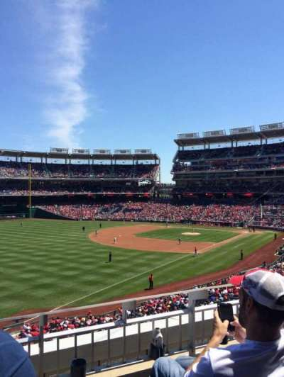 Nationals Park, section: 202, row: C, seat: 5