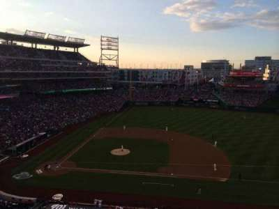 Nationals Park, section: 319, row: A, seat: 9